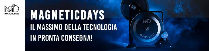 MAGNETICDAYS IL MASSIMO DELLA TECNOLOGIA BANNER NEWS